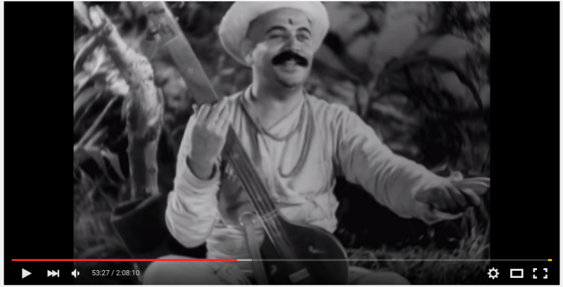 still from Sant Tukuram (1936). Bhakti yoga !